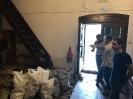 Начинается ремонт притвора храма