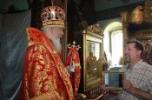 Архиерейское богослужение в старинном селе Николо-Погост