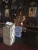 Освящение иконы прп. Сергия игумена Радонежского