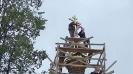 Ремонт куполов и освящение крестов на Богородичных храмах Николо-Погоста_1