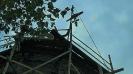 Ремонт куполов и освящение крестов на Богородичных храмах Николо-Погоста_4
